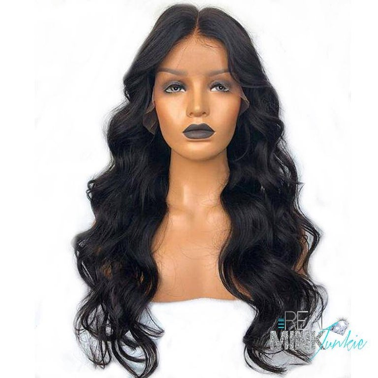 Image of LACE FRONT WIG - BRAZILIAN BODY WAVE