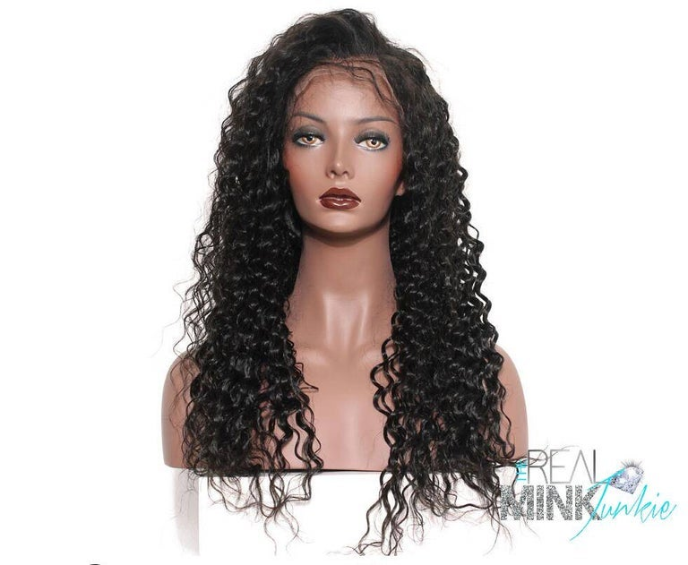 Image of LACE FRONT WIG - BRAZILIAN DEEP WAVE