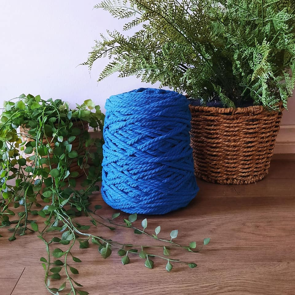 Image of 1kg Peacock 3ply Rope