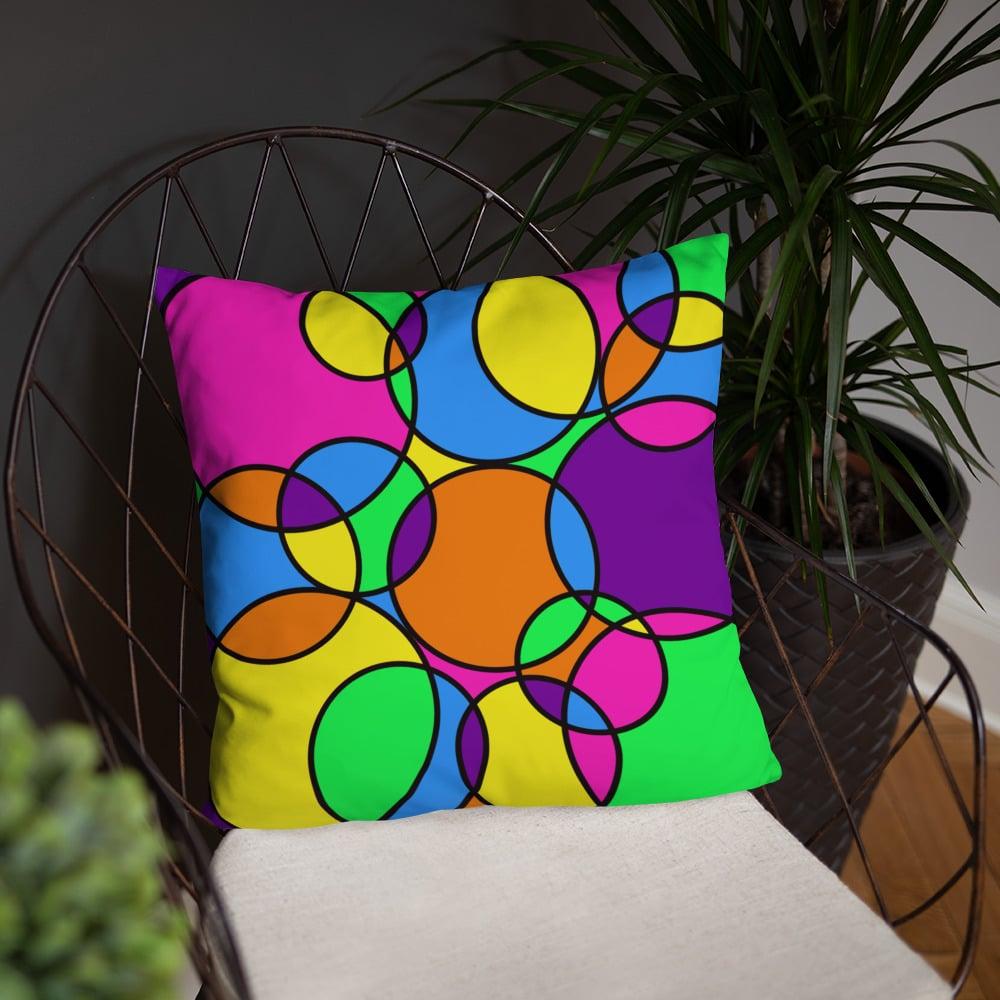 Throw Pillow - Goin' in Circles