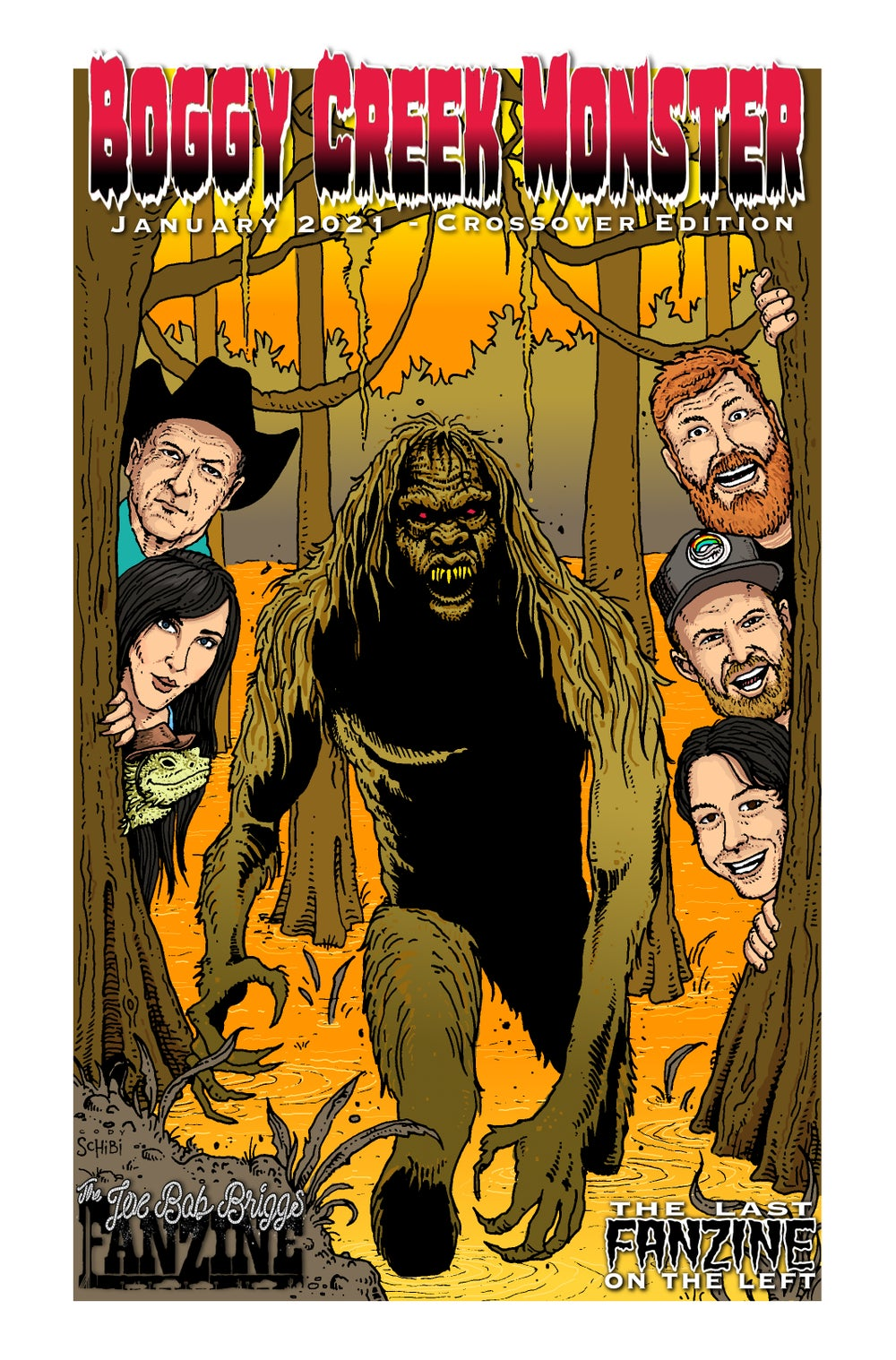 Boggy Creek Monster - Crossover Edition!