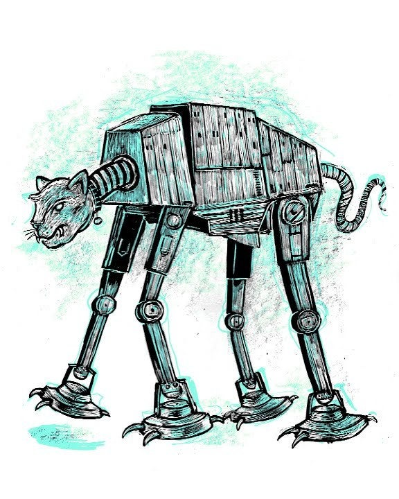 Cat-at Imperial Walker