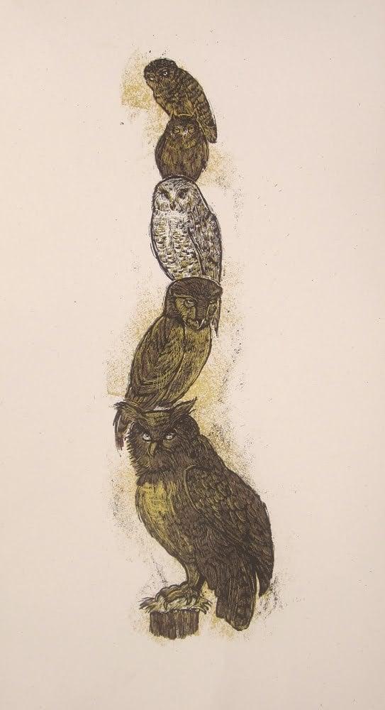 5 owl totem
