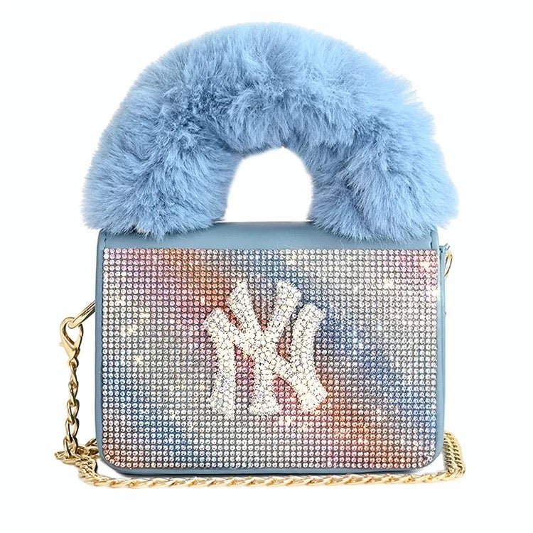 Image of Full Bling Fur NY Bag