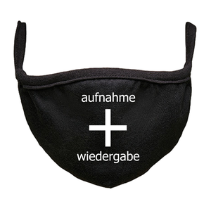 Image of aufnahme + wiedergabe 2020 bundle (vinyl, digital + face mask)