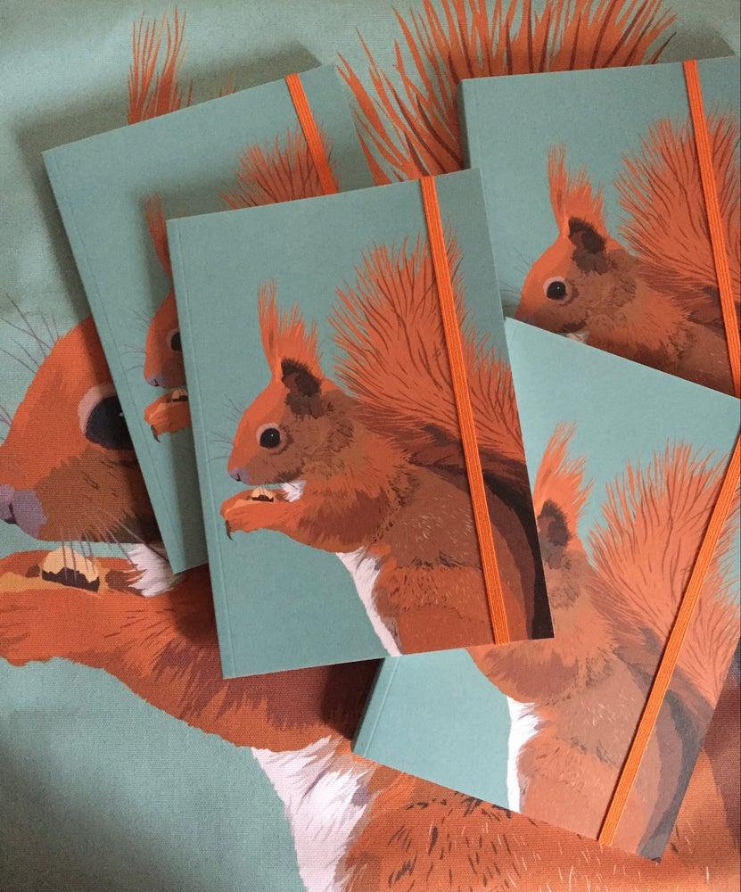 Image of Red Squirrel Notebook