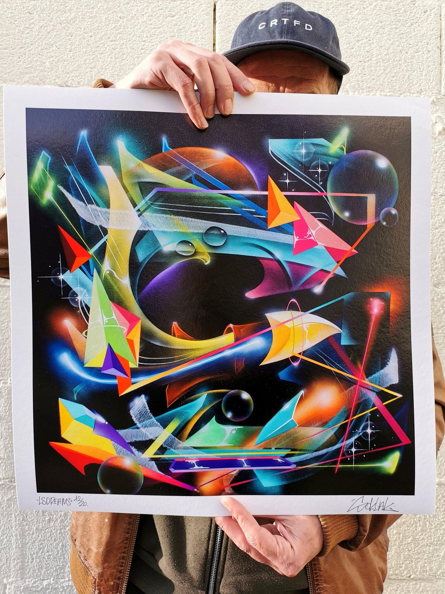 Image of Soklak LSDreams #2 Fine Art Print