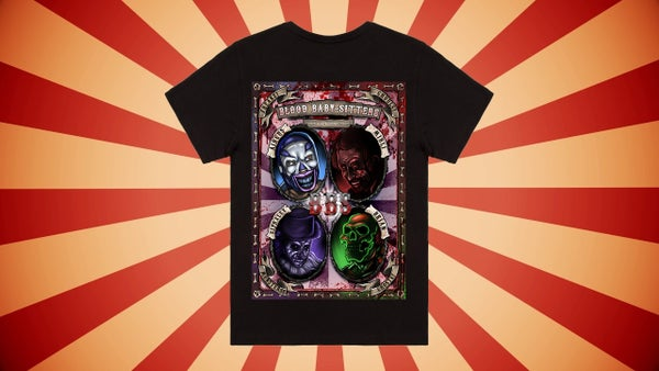 Image of Blood Baby-Sitters Circus T-SHIRT