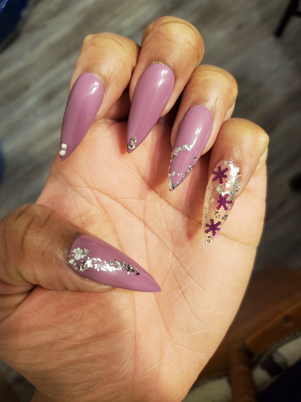 Image of Long Stiletto Bling Me (Set 5)