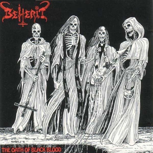 Image of Beherit - The Oath of Black Blood CD
