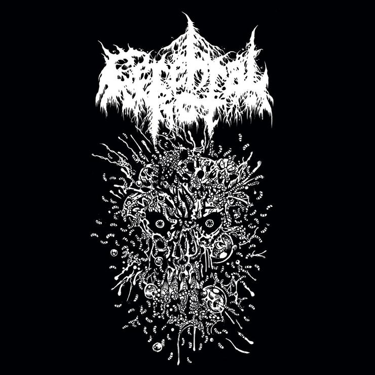 "Image of Cerebral Rot - Spewing Purulence 7"" & CS"