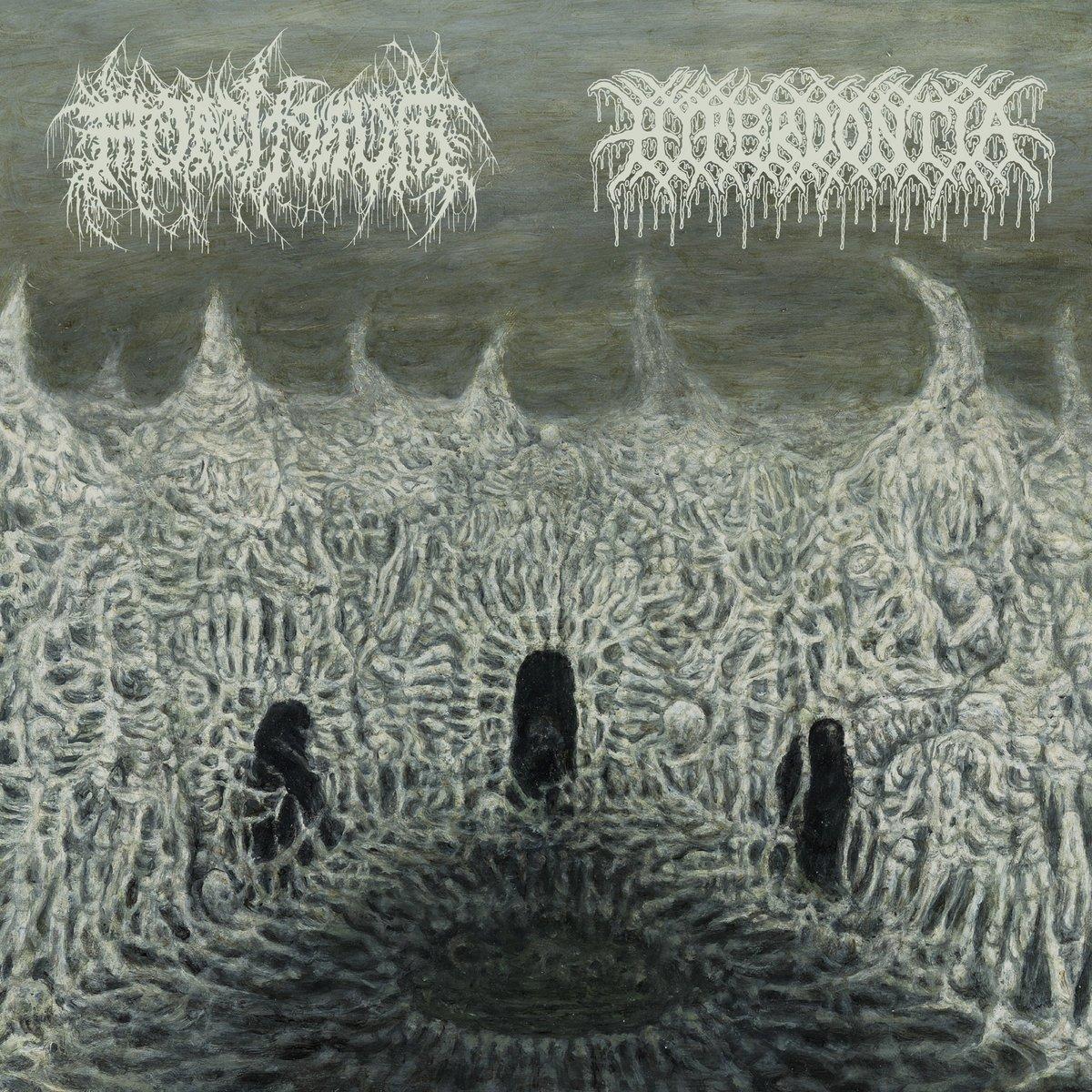 "Image of Mortiferum / Hyperdontia - Split 7"""