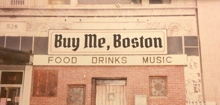 "Image of ""Buy Me, Boston. Local Ads & Flyers, 1960s - 1980s. Volume 1"""