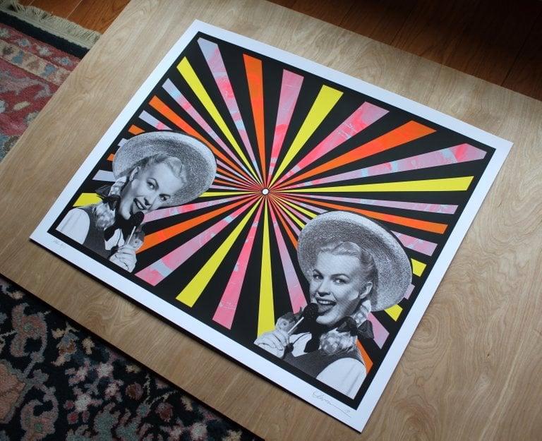 "Image of ""Kaleidopop"" - Variant Edition - Print #8/11"