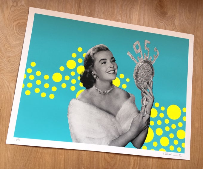 """Image of """"1953"""" - Turquoise Edition Print"""