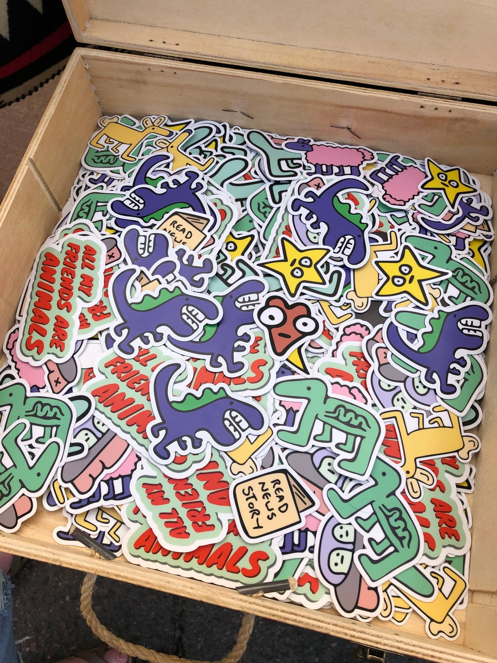 Image of 4 Stickers for $10