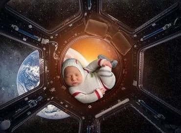 Image of Little Astronaut Jammy Set