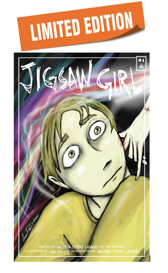 Signed Foil Cover Jigsaw Girl Lyric Comic