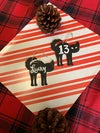 Lucky 13 Cat Ornament Set - Hand Painted