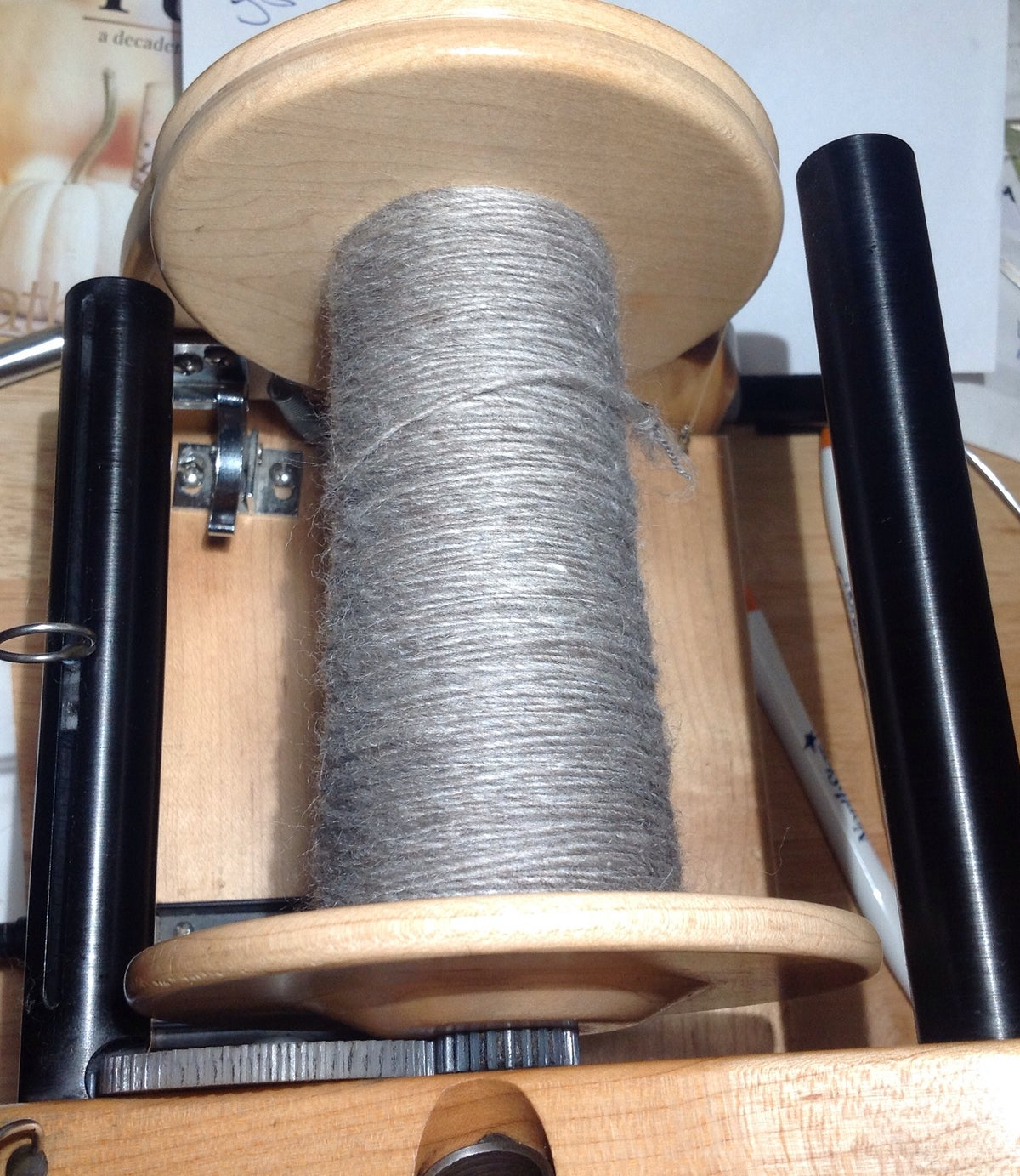 Image of I Spin Your Fiber into Handspun Yarn