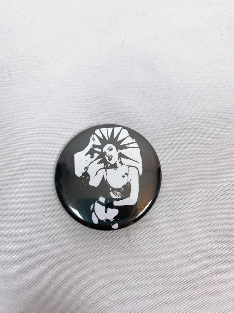 "Image of 1.75"" Middle Finger Pin 🖕"