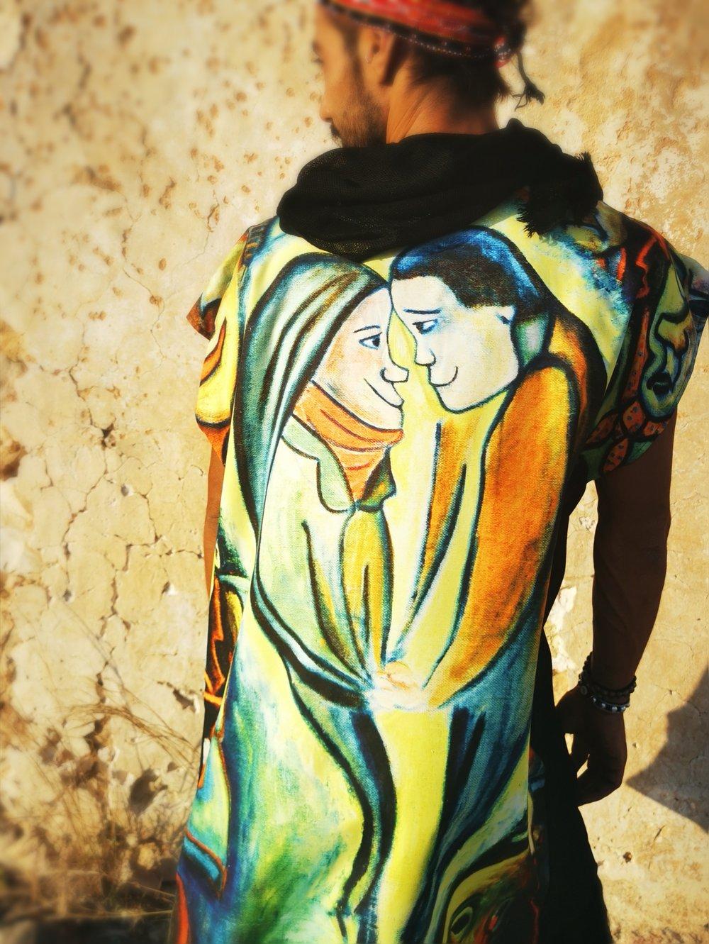 Image of Black Lovers Caftan