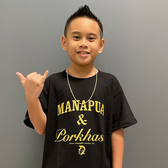 Image of Manapua N Porkhash Kid's T-Shirt