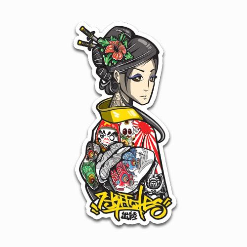 Image of Kimono Sticker