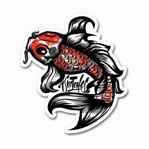 Image of Koi Fish Sticker
