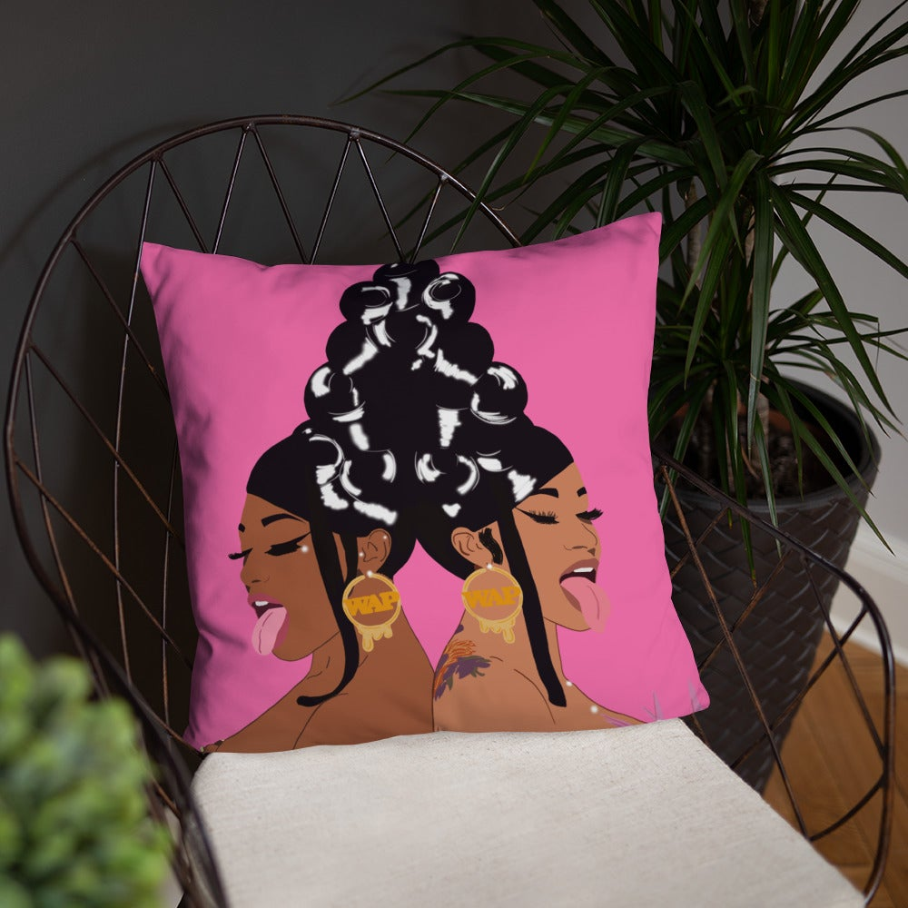 Throw Pillow - WAP