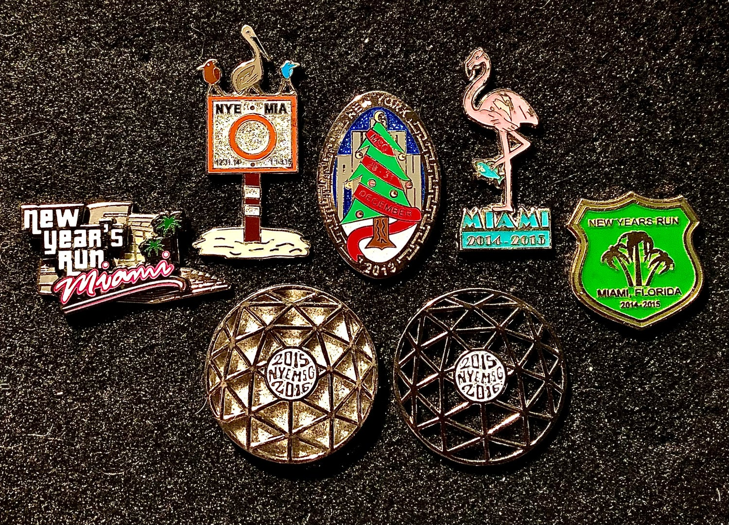 Image of New Year's pins