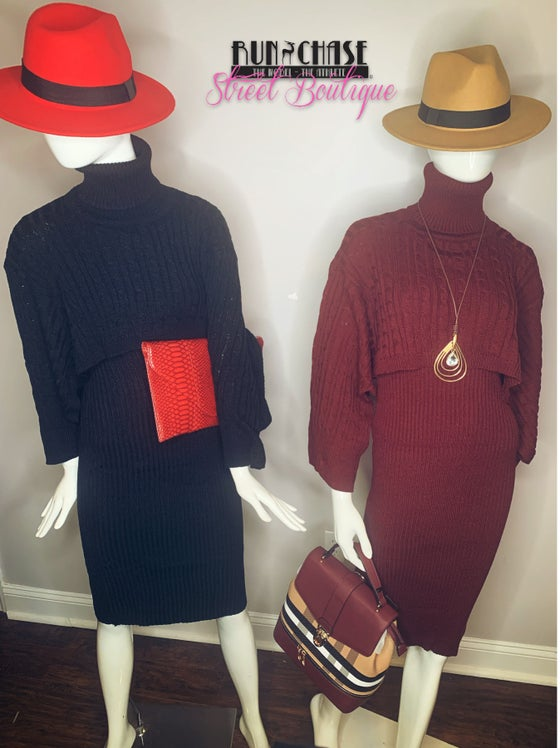 Image of Farrah /pc  turtleneck dress set