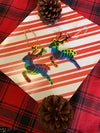 Share the Love Queer Deer Hand Painted Ornaments