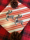 Share the Love Trans Deer Hand Painted Ornaments