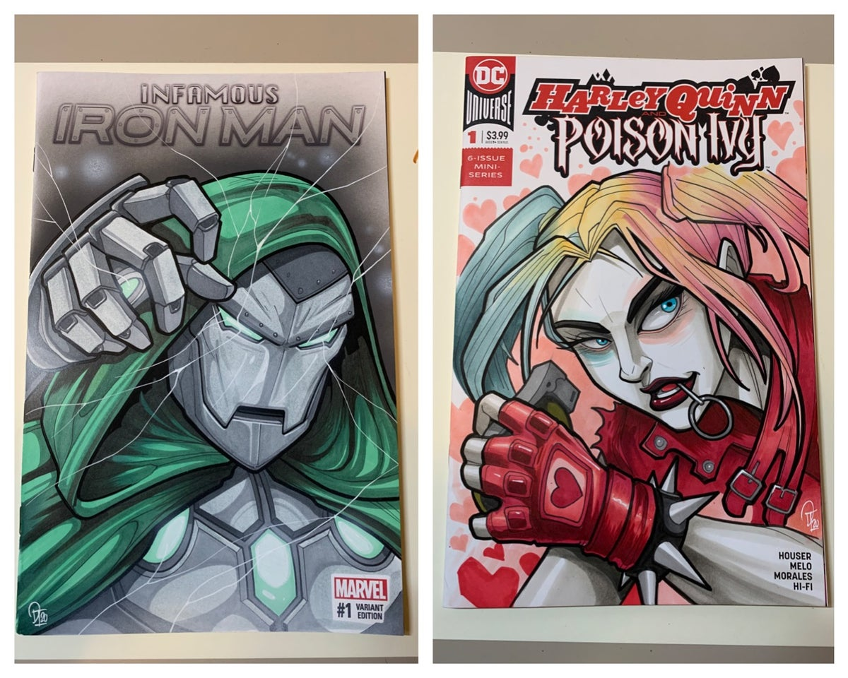 Image of Various Sketch Cover Illustrations