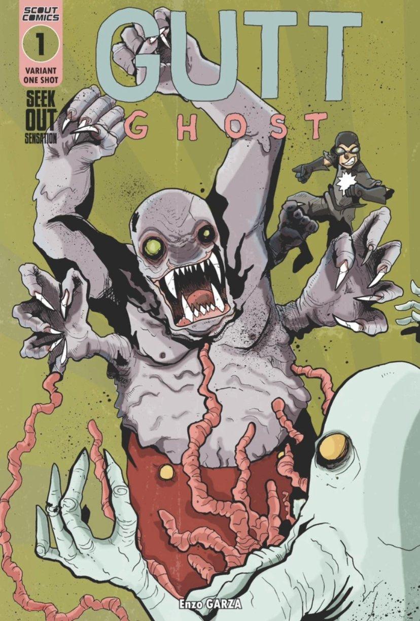 Image of Gutt Ghost Seek Out Sensation Chris Hamer Variant