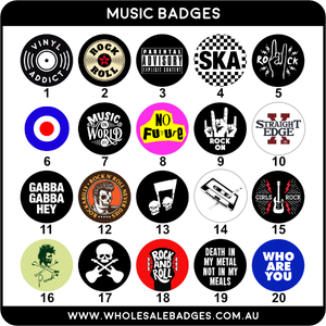 Music Badges