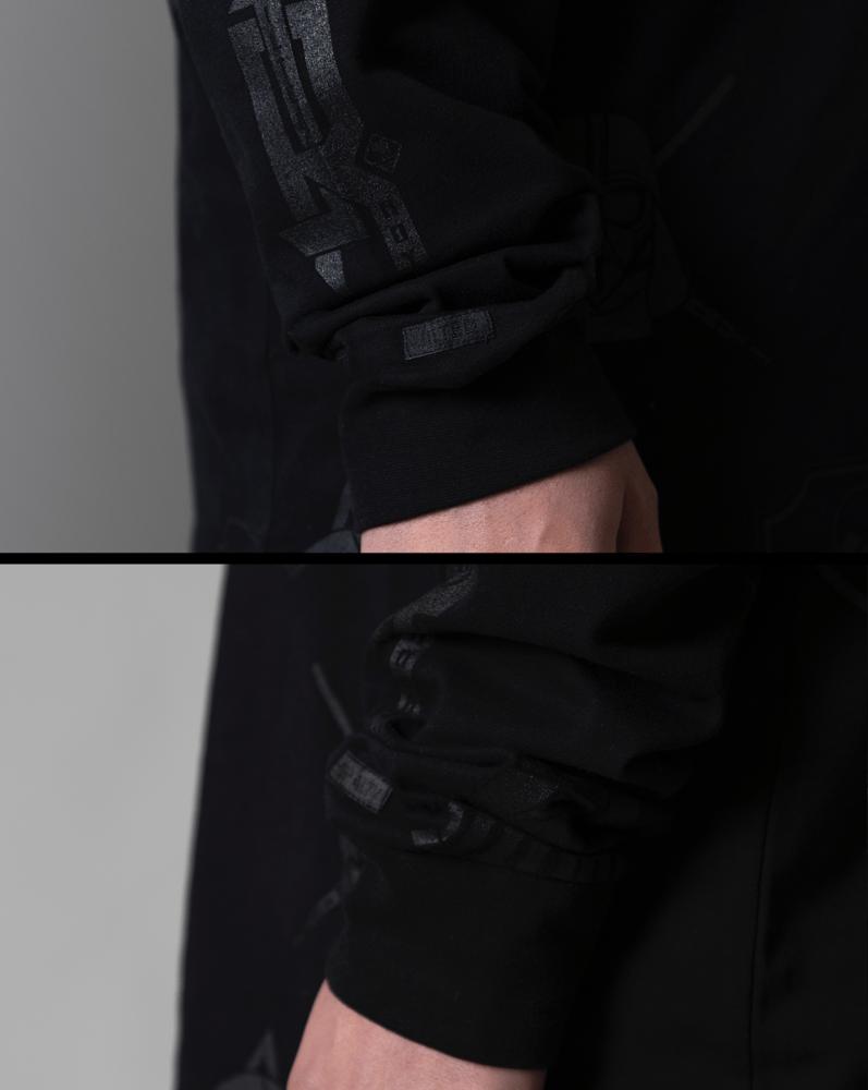 Image of Double Dark Long-Sleeve Tee