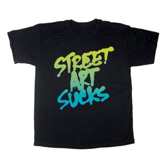 Image of Street Art Sucks BLACK