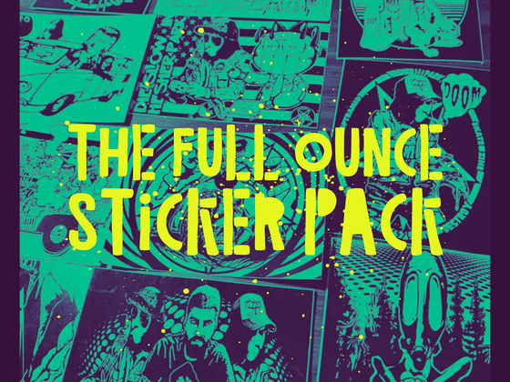 Image of H⚡️P FULL OZ STICKER PACK