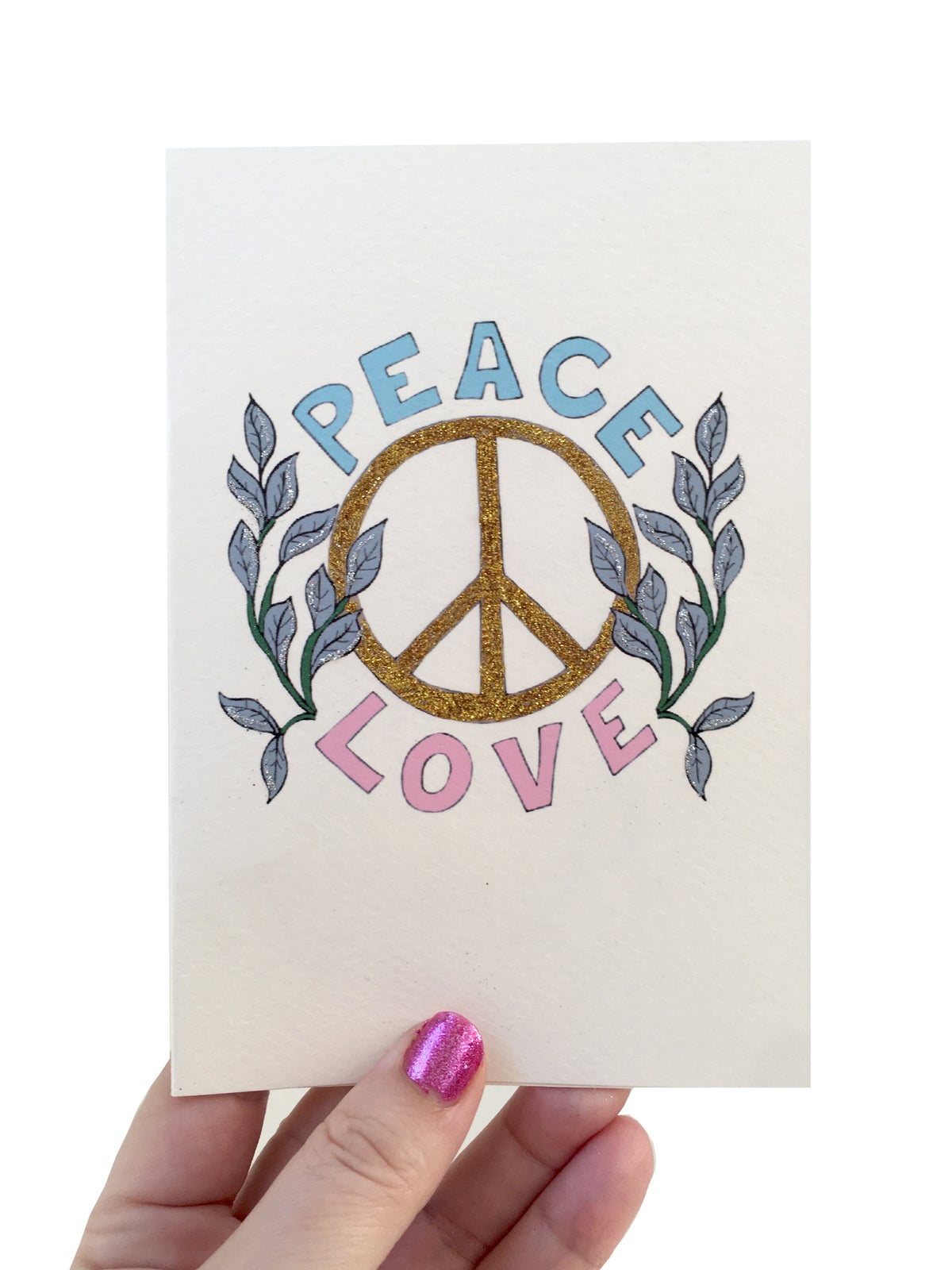 **NEW** Peace & Love Card