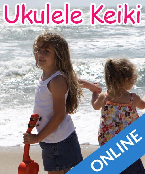 Image of Ukulele Keiki for 5-7 Year Olds Online Class