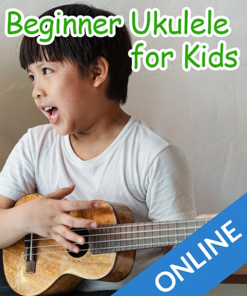 Image of Online Beginner Ukulele for Kids (8-11 years)