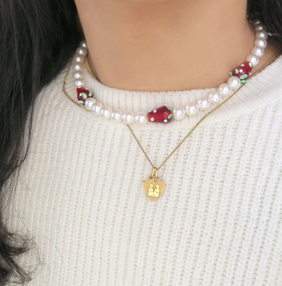 Image of Fraise necklace 🍓