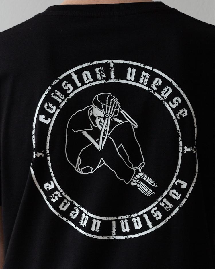 Anniversary Logo T-Shirt Schwarz