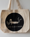 'We See The Beauty In Death' Shopper