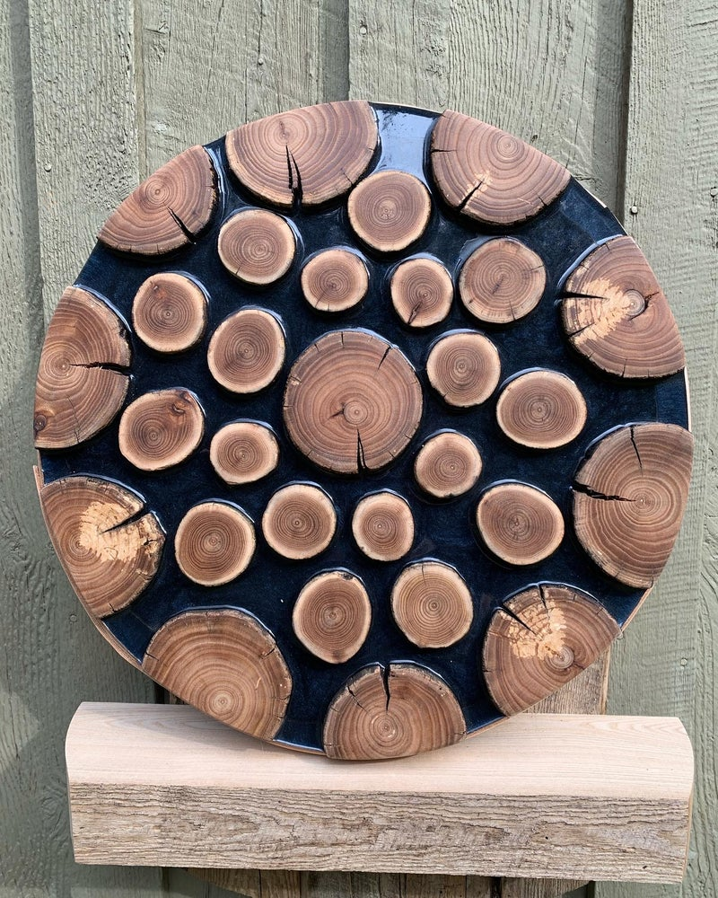 Image of Tree Ring Art