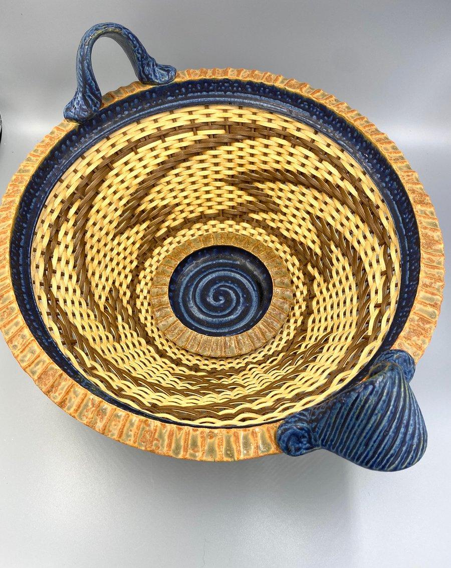 Image of Zig Zag basket- Stephen Kostyshyn