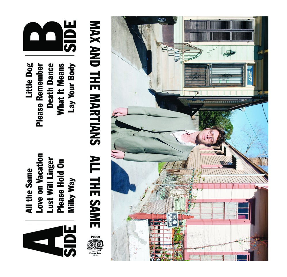 """""""All The Same"""" Cassette by Max and The Martians (Preorder)"""