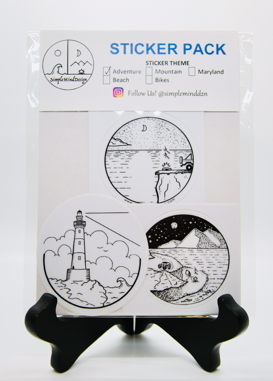 Image of Adventure Sticker Pack